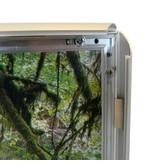 DLF Voordelige en solide kliklijst Business Budget Line - 25 mm breed zilver & zwart profiel