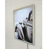 DLF Voordelige LED kliklijst ECO Line inclusief print - 25 mm breed zilver