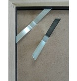 DLF Extra snel leverbare wissellijsten Ambiance zwart houten sierlijke zware kwaliteit lijsten