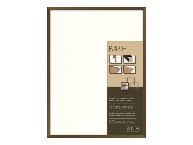 Barth Wissellijst aluminium wissellijst 916BR bruin