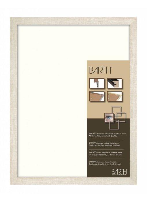 Eiken wit gewassen brede Barth wissellijst 1828 BW