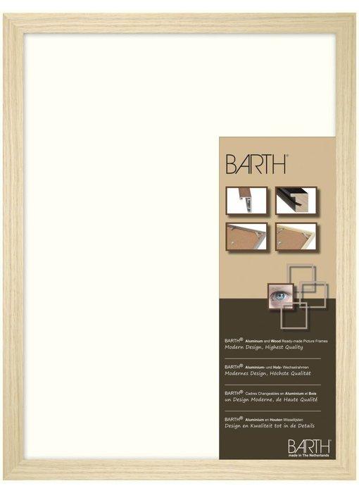 Blank eiken brede Barth wissellijst 1828 BO