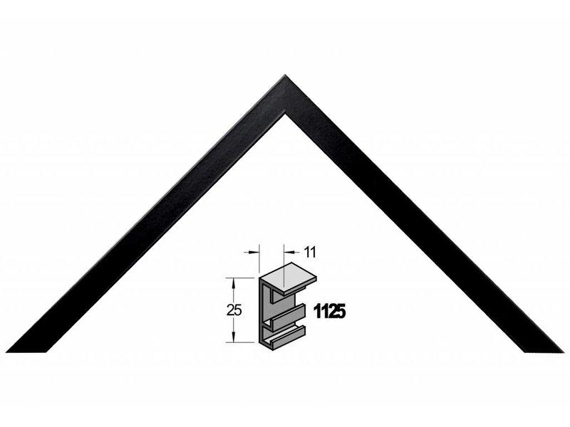 Barth Wissellijst aluminium wissellijst 1125ZWG zwart gelakt