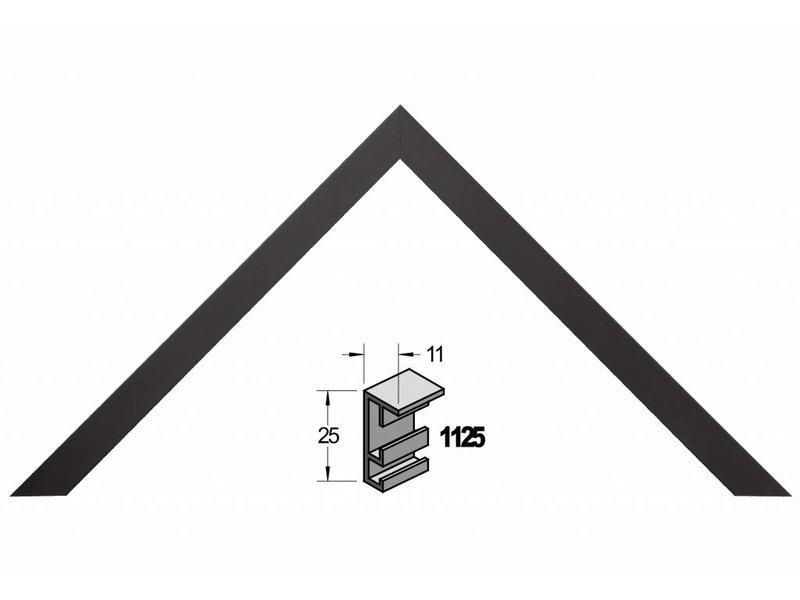 Barth Wissellijst aluminium wissellijst 1125ZW zwart