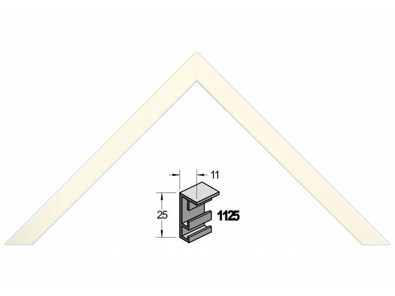 Barth Wissellijst aluminium wissellijst 1125WT witte