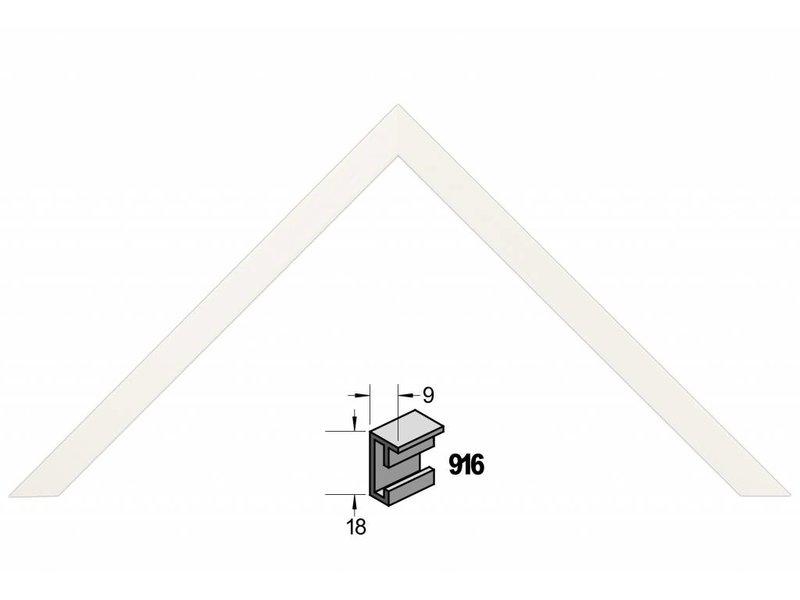 Barth Wissellijst aluminium wissellijst 916WW Wit
