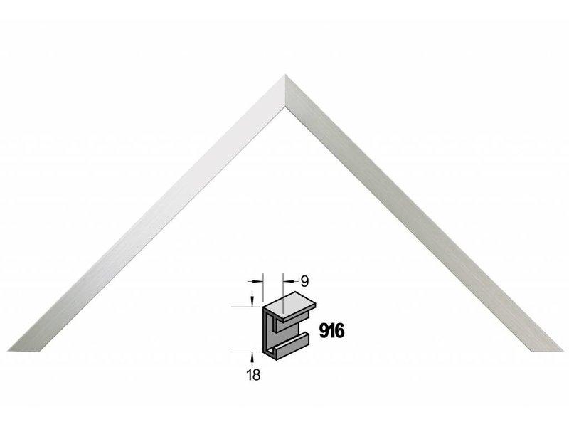 Barth Wissellijst aluminium wissellijst 916GAL geschuurd aluminium