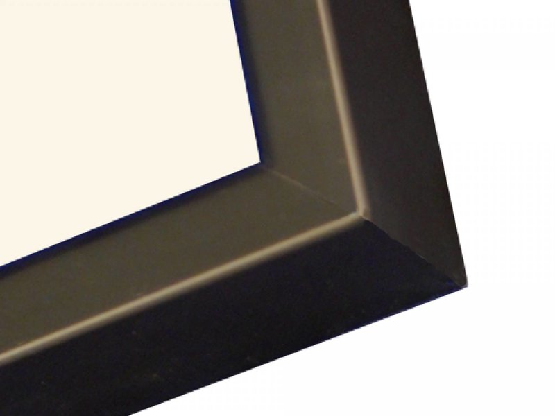 DLF Wissellijsten D-Line mat zwart - design lijsten