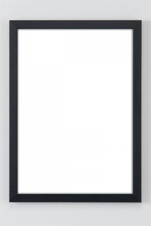 Extreem Basic Line zwart houten lijst - wissellijst - De Lijsten Fabriek II14