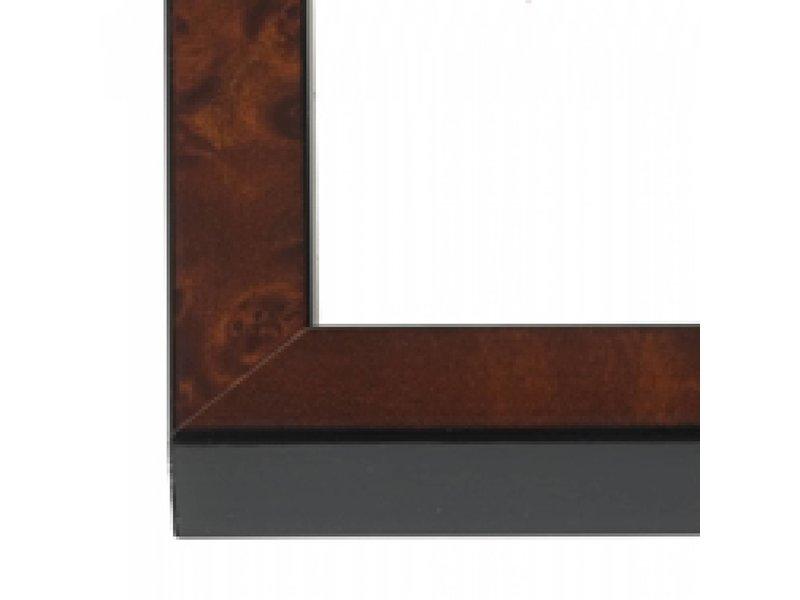 DLF Wissellijsten Basic wortelhout - houten wissellijsten