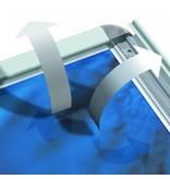 DLF Fraaie poster kliklijsten AT Klick in A1 formaat (60 x 84 cm)
