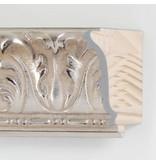 DLF Premier Ornament XL zilver - zeer brede lijst met ornament