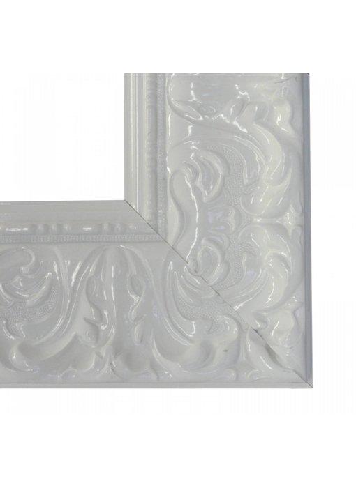 Premier Ornament XL hoogglans wit