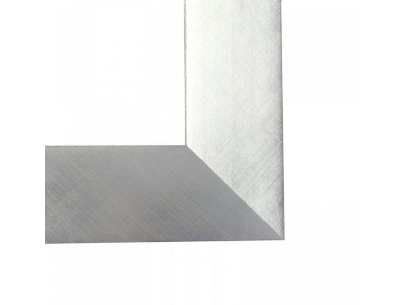 DLF Premier Design L zilver - brede design lijst met kras