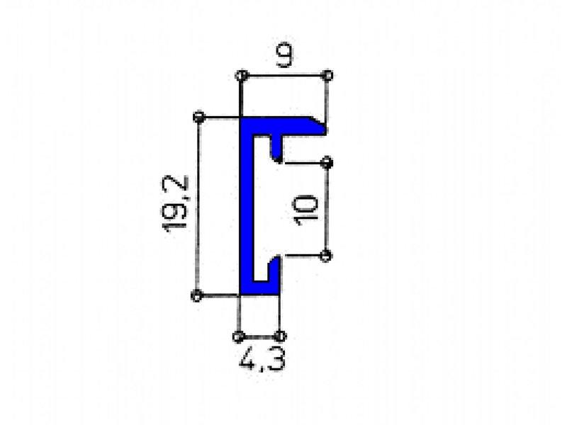 DLF Wissellijst 70 x 90 cm D-Line mat zilver, design wissellijsten in het mat zilver