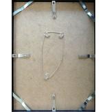 DLF 24x30 cm zilver Pro Line wissellijst   extra solide fotolijsten met een smal profiel.