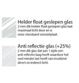 DLF 29,7x42 cm (A3) zilver Pro Line wissellijst  extra solide fotolijsten met een smal profiel.