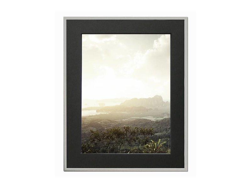 DLF 40x40 cm zilver Pro Line wissellijst  extra solide fotolijsten met een smal profiel.