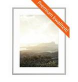 DLF 70x100 cm zilver Pro Line wissellijst  extra solide fotolijsten met een smal profiel.