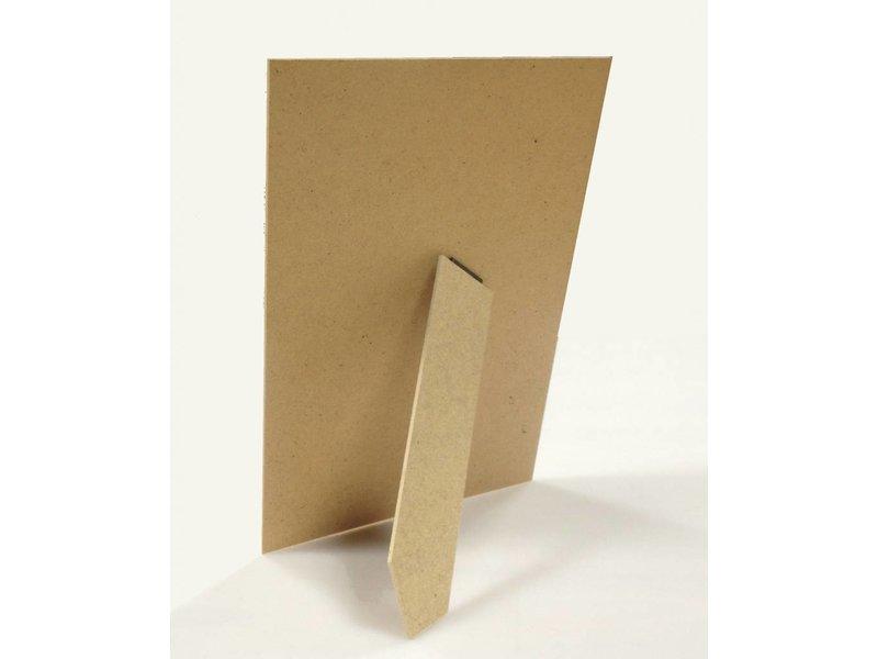 DLF 40x60 cm witte Pro Line wissellijst  extra solide fotolijsten met een smal profiel.