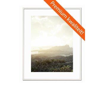 50 x 65 cm witte Pro Line wissellijst