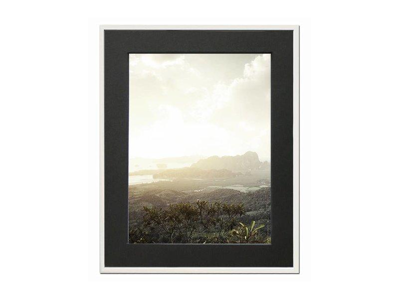 DLF 18x24 cm witte Pro Line wissellijst  extra solide fotolijsten met een smal profiel.