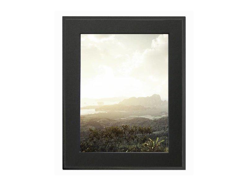 DLF 28x35 cm zwarte Pro Line wissellijst  extra solide fotolijsten met een smal profiel.