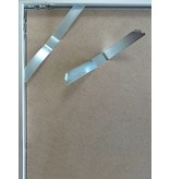 DLF 30x45 cm zwarte Pro Line wissellijst  extra solide fotolijsten met een smal profiel.