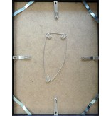 DLF 50x70 cm zwarte Pro Line wissellijst  extra solide fotolijsten met een smal profiel.