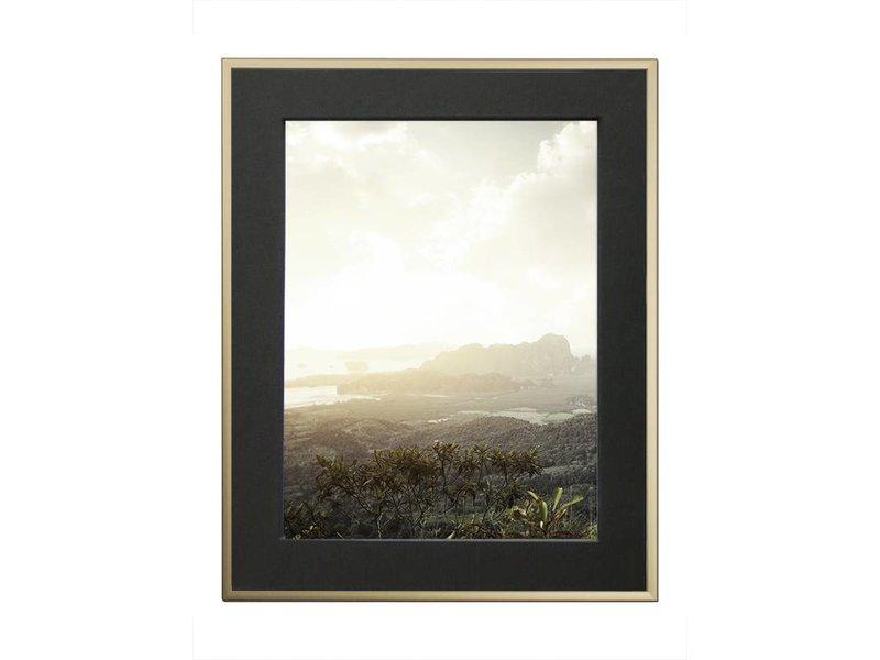DLF 70x100 cm champagne Pro Line wissellijst  extra solide fotolijsten met een smal profiel.