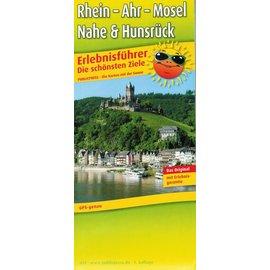 Freizeitkarte - Ziele an Rhein-Mosel-Ahr-Nahe und Hunsrück