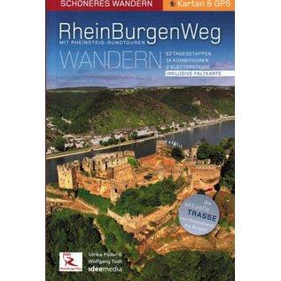 RheinBurgenWeg mit Rheinsteig-Rundtouren Wandern