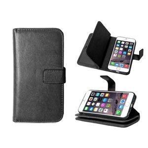 iPhone 6/6S Bookcase Hoesje Clutch Zwart