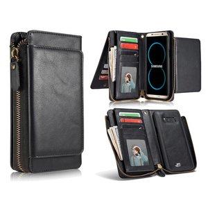 Samsung Galaxy S8 Plus Portemonnee Clutch Zwart