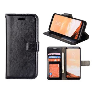 Samsung Galaxy S8 Bookcase Hoesje Zwart