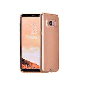 Samsung Galaxy S8 Hoesje Siliconen Goud Transp.