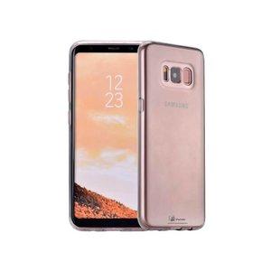 Samsung Galaxy S8 Plus Hoesje Siliconen Zwart Trsp