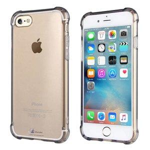 iPhone 6/6S Bumper Case Siliconen Shockproof Zwart