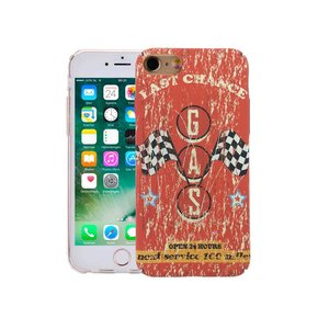 iPhone 8/7 Hoesje Vintage Look Autorace Pitstop