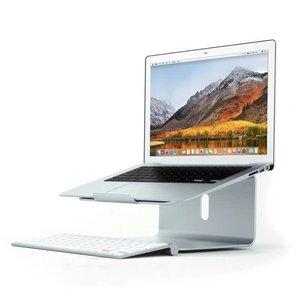Laptopstandaard MacBook Aluminium Zilver Draaibaar