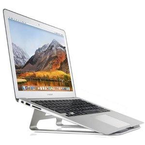Laptopstandaard MacBook Stand Zilver Aluminium