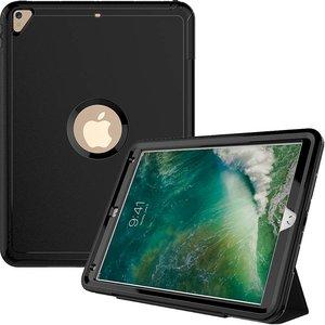iPad Pro 10.5 Hoes Shockproof Smart Case Zwart