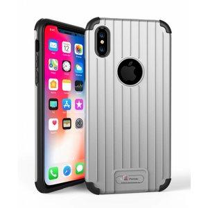 Armor iPhone X Hoesje Schokbestendig Zilver