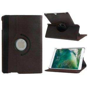 iPad 2017/iPad Air Hoes Draaibaar 360 Bruin