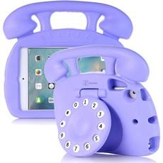 Kinderhoes iPad Mini Retro Telefoon Paars