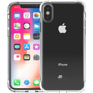 Shockproof iPhone Xs/X Bumper Hoesje Transparant