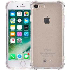 iPhone 8/7 Bumper Case Shockproof Siliconen Transp.