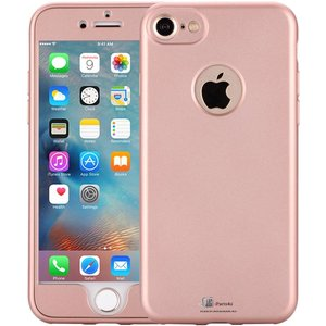 iPhone 6/6S Hoesje 360 Siliconen Logo Rose Goud