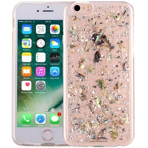 iPhone 6/6S Glitter Hoesje Snippers Parelmoer