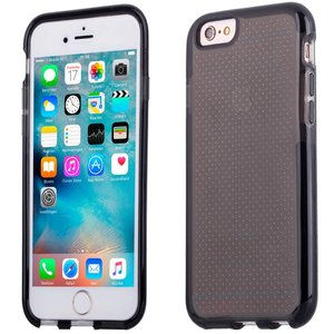 iPhone 6 en 6S Bumper Case Siliconen Shockproof Zwart